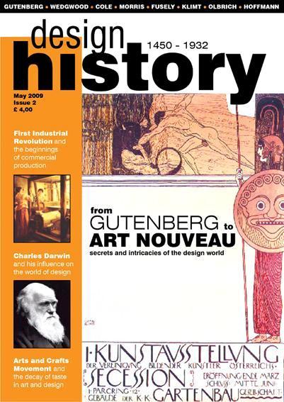 History of Design Magazine Front Cover Iga Koczorowska