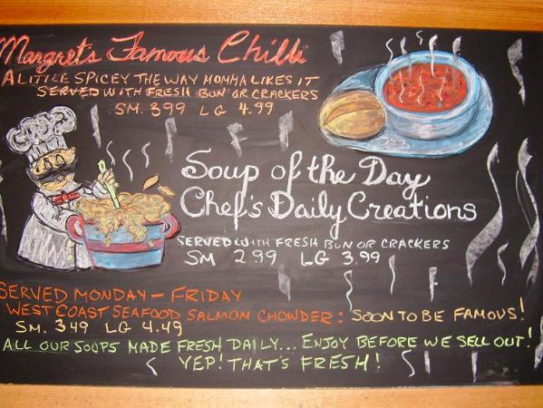 Soup Of The Day As You Like It Art Fraser Valley
