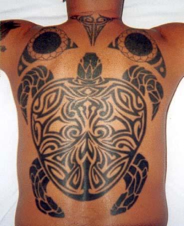 Honu - Vincent Weiner - Tattoos in Hawaii