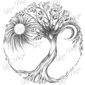Tree Tattoo Drawings