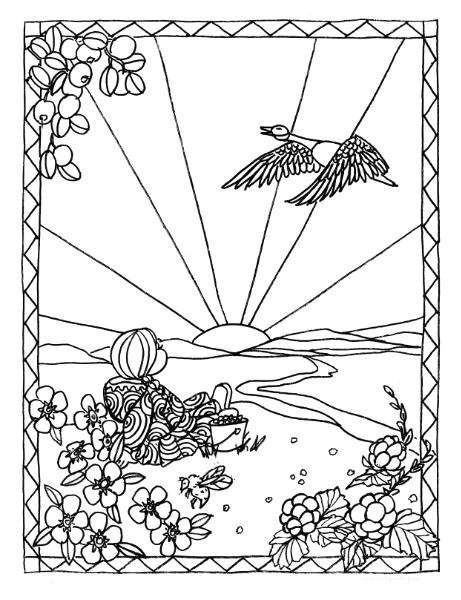 first nations coloring pages - photo#6