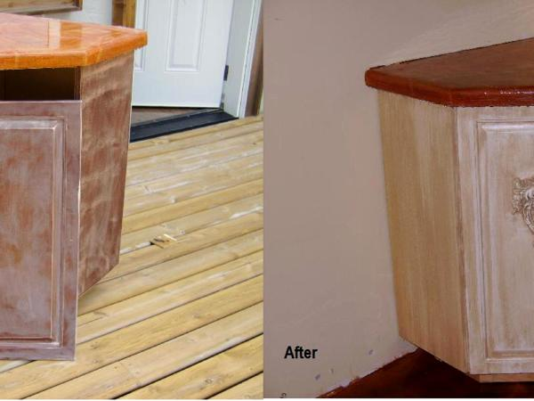 Before After Photo Of Cabinets Refurbished As You Like