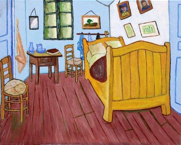 van gogh - artist's bedroom at arles - pete dixon fine arts