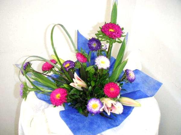 decorate your home inside & outside with flower arrangements
