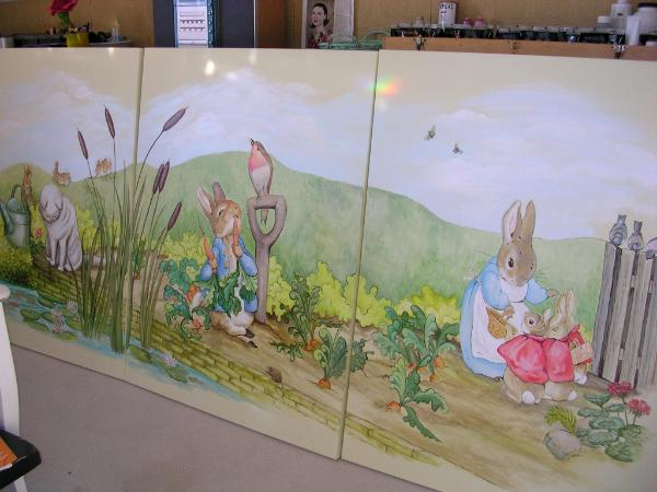 Peter Rabbit Wall Murals Peter Rabbit Mural Michele Jones A O C A D