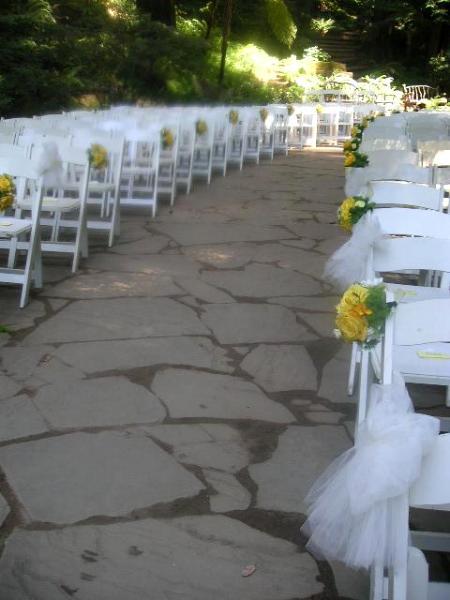 What Is Wedding Aisle Floral Arrangements California Flower Art