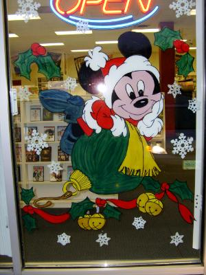 Mickey on ornament