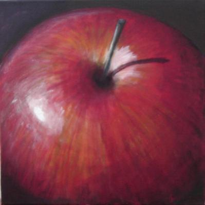 One large apple