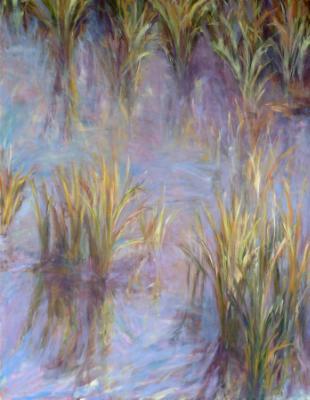 """Marsh Grass 36"""" x 48"""""""