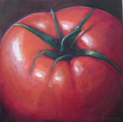 One large tomato