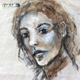 MIXED MEDIA PORTRAIT DRAWINGS