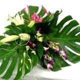 Green leaf design