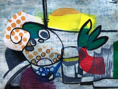 Tropical Table (sold)
