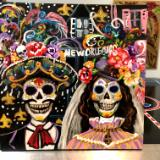 Day of the dead in New Orleans