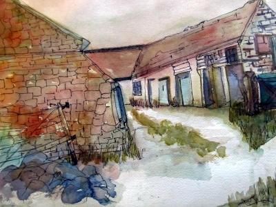Cumbrian Farmyard