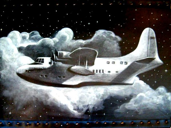 Sea Plane on McGuffin Trunk