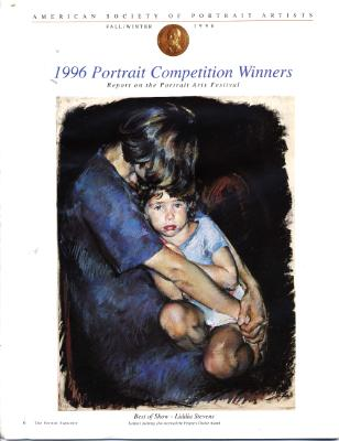 AMERICAN SOCIETY OF PORTRAIT ARTISTS GRAND PRIZE AND PEOPLES CHOICE AWARD