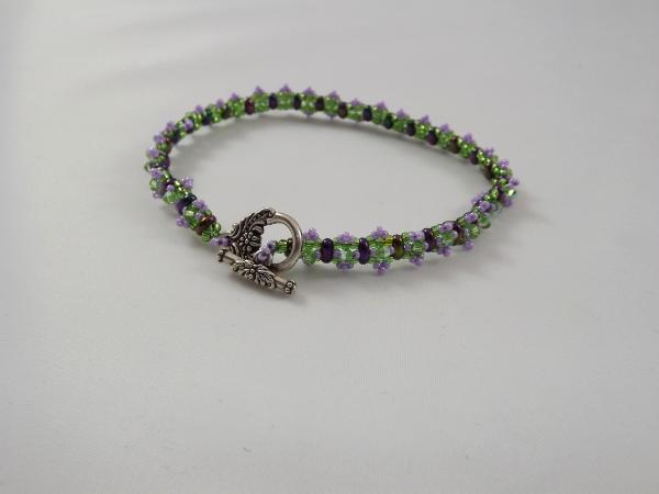 B-19 lavender & lime bracelet