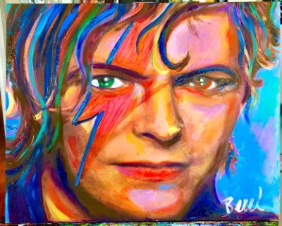 "David Bowie ""Rocket man"""