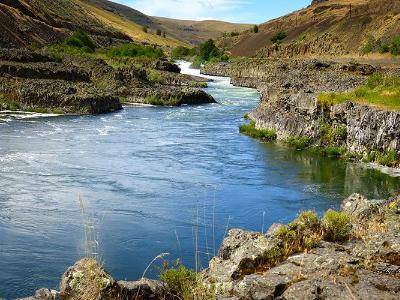 Deschutes River's Sherars Falls