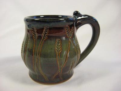 101115.C Wheat Design Mug