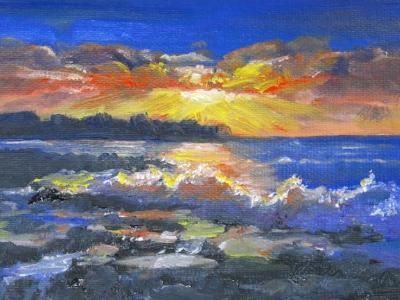 Kauai Lawai Sunrise 2