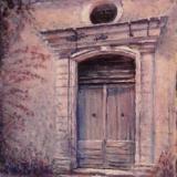 Old Chapel Door in Provence