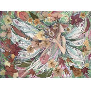 """Flora"" fairy note card"