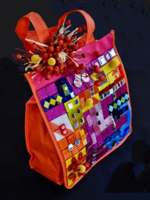 embellished tote bag 2018 - 3rd prize