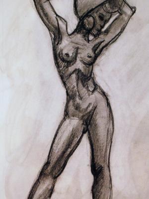 Titania Standing Gesture