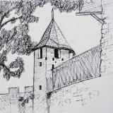 Castle Tower, Carcasonne