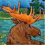 Alaskan Artist Ed Zegzdryn - Fiery Arts Studio