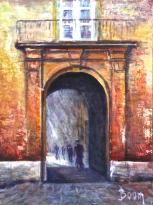 Archway in Rome