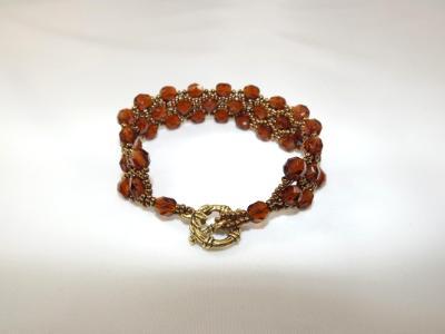 B-86 dark amber bracelet