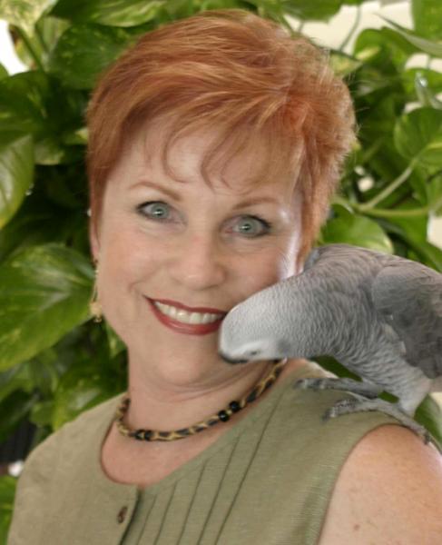 Sallie Lynn Davis with Tillie