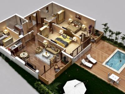 Traditional 3d home floor plan design by floor plan designer, Elko – Nevada