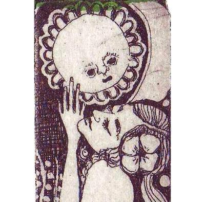 The Gift Limited Etching Art Deco style