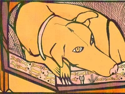 Dog at Peace (sold)