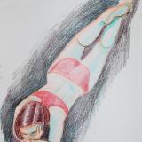 Shawna, Red Bikini