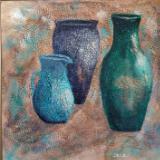 Three Ancient Vases