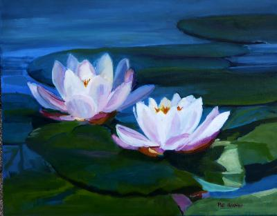 Lotus - oil - 16x20