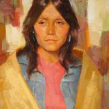 Young Woman of Taos