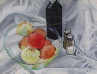 Still Life with Glass Bowl