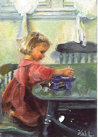 Valery Larson - Fine art and illustration