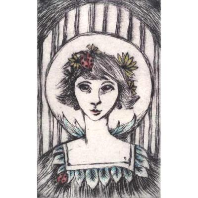 LadyBird Limited Edition Drypoint Etching