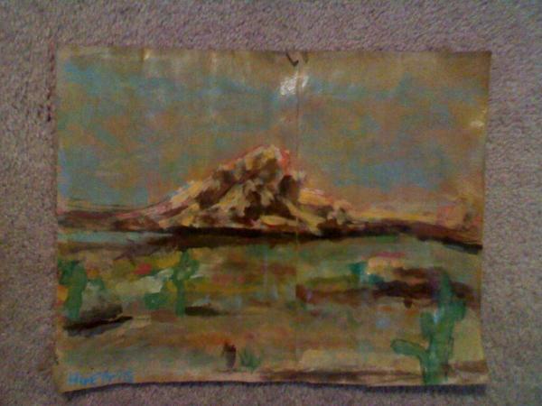Desert on Kroger sack