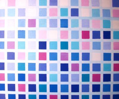 Pattern in purple 1