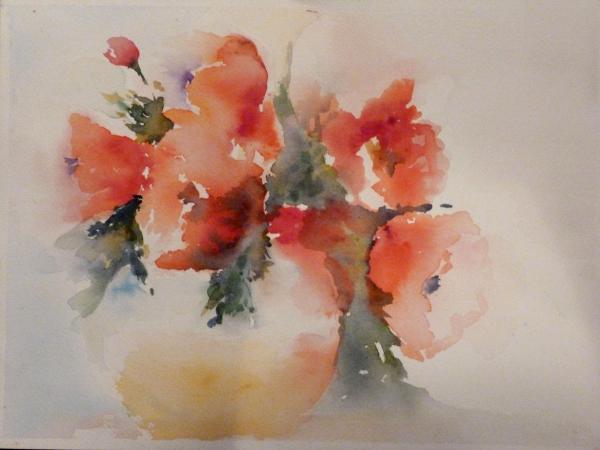 Watercolor Nosegay