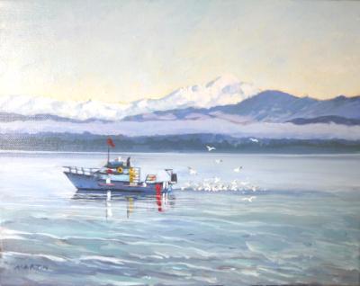 Crabbing Camano  -Sold