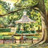 The Bandstand  Swindon Old Town Gardens